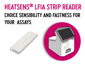HEATSENS® LFA - THE EARLY DETECTION OF ANALYTES IN LFA ASSAYS