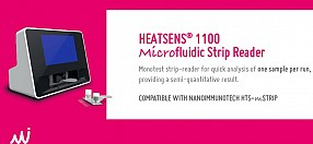 HEATSENS® 1100 Microfluidic Strip Reader is here!